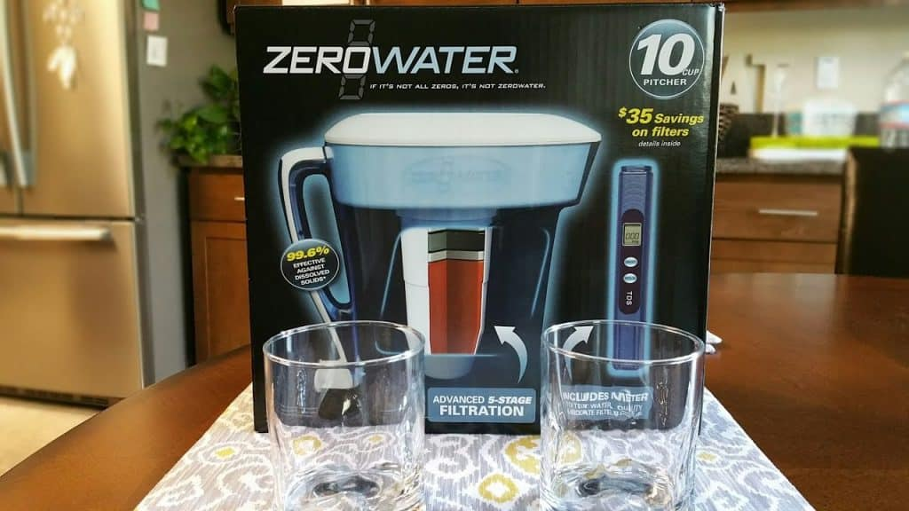 How Long Does Zero Water Filter Last and it's uses